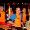 Ночная гонка на лодках класса «Дракон»