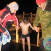 Альтаировцы приняли участие в крещенских купаниях