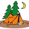 Сидят ночью в палатке два туриста…
