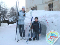 Лыжный туризм на областной станции юных туристов — 2013