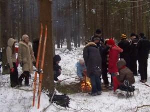 Песня «Домбайский вальс» («Лыжи у печки стоят»)